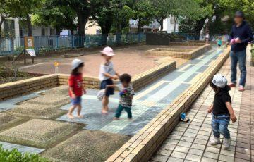 西六郷三丁目公園の水遊び場