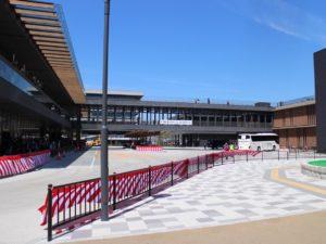 奈良公園バスターミナル