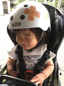 ヘルメット装着