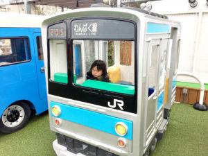 電車の遊具