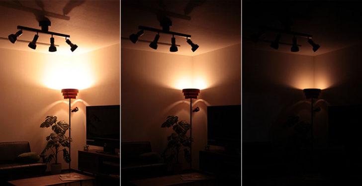 調光調色電球イメージ