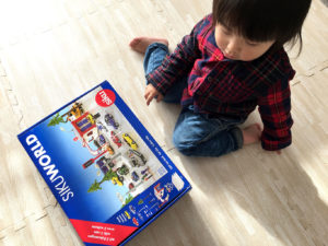 パッケージですぐにおもちゃがわかった息子