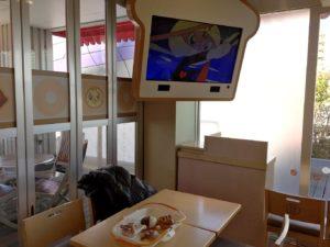 食パン型のテレビ
