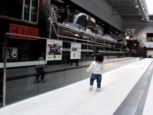 蒸気機関車をヒロと呼ぶ息子