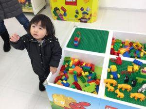 レゴの遊び場低年齢