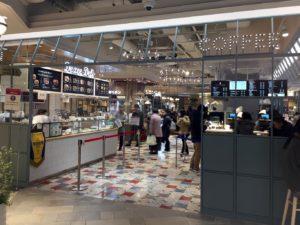 COFFEE MILK改札側入口