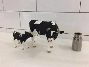 牛さんのフィギュア
