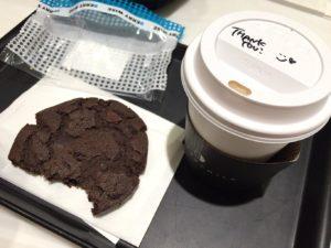 カップとコーヒー