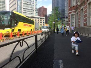 東京駅はとバス乗り場