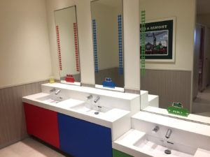 トイレ内手洗い場