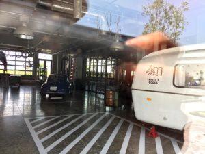 東急REIホテルライフスタイルストア窓越し