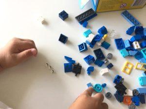 レゴクラシックアイデアパーツ青