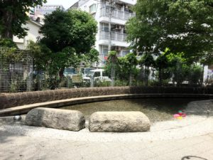 仲蒲田公園じゃぶじゃぶ池
