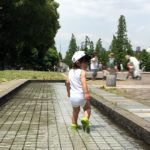 大師公園で水遊び