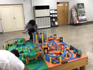 新金谷駅プラザロコプラレール遊び場