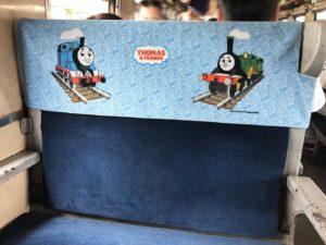 トーマス号客車内