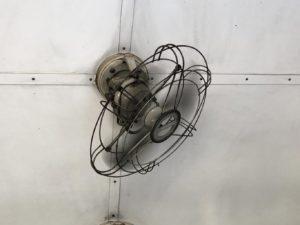 トーマス号客車内扇風機