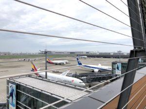 羽田空港国際線T展望デッキ