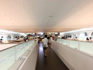 中央食堂の2Fエプロント