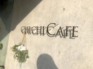 CHICHICAFEサイン