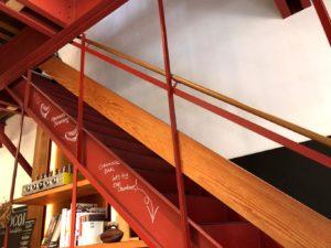 2Fヘの階段