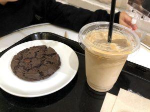カフェオレ&クッキー