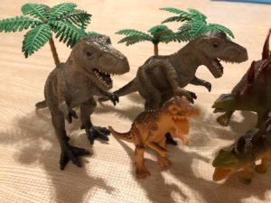 ティラノサウルスの家族