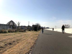 多摩川沿いサイクリングロード
