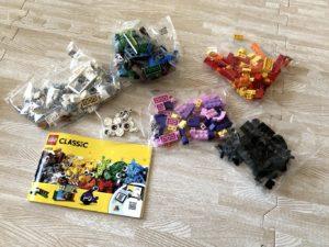 レゴ アイデアパーツ11003中身
