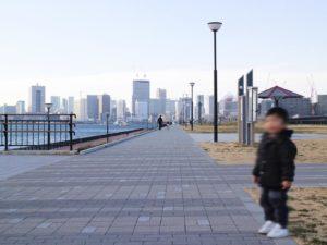 豊洲ぐるり公園遊歩道