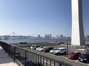 豊洲ぐるり公園自動車駐車場