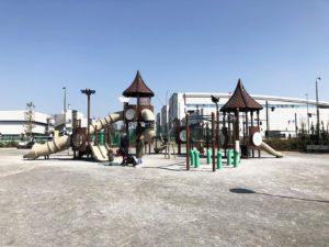 豊洲ぐるり公園複合遊具