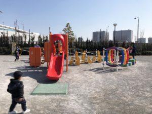 豊洲ぐるり公園幼児複合遊具