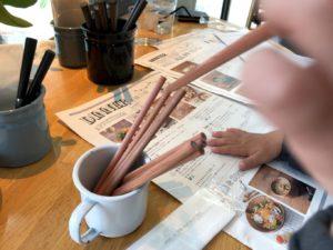 塗り絵用の色鉛筆