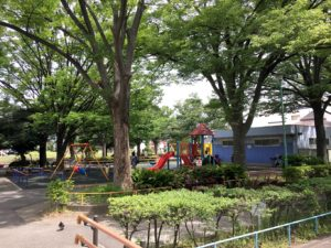萩中公園遊具