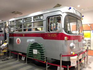 電車とバスの博物館館内