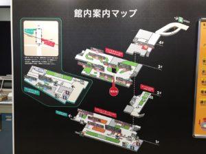 電車とバスの博物館館内図