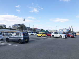 阿漕浦海浜公園駐車場